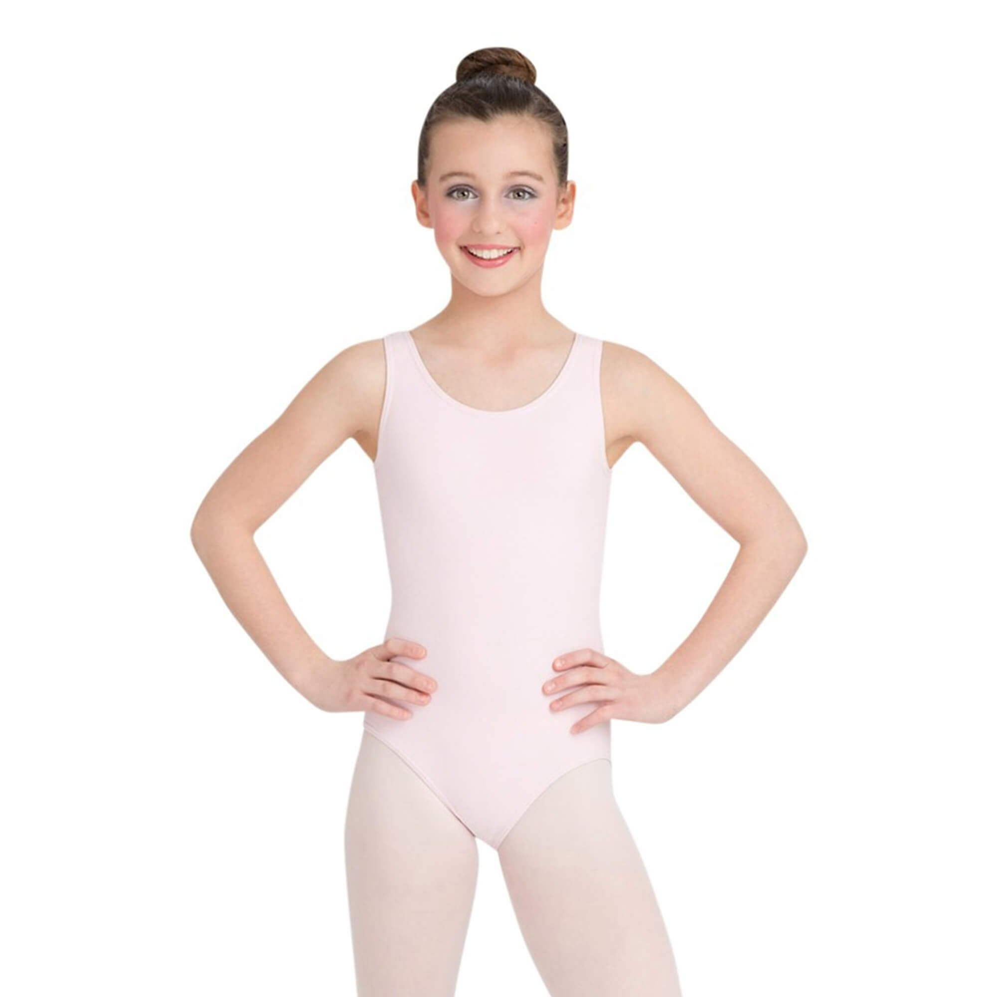Capezio Girls' High-Neck Tank Leotard