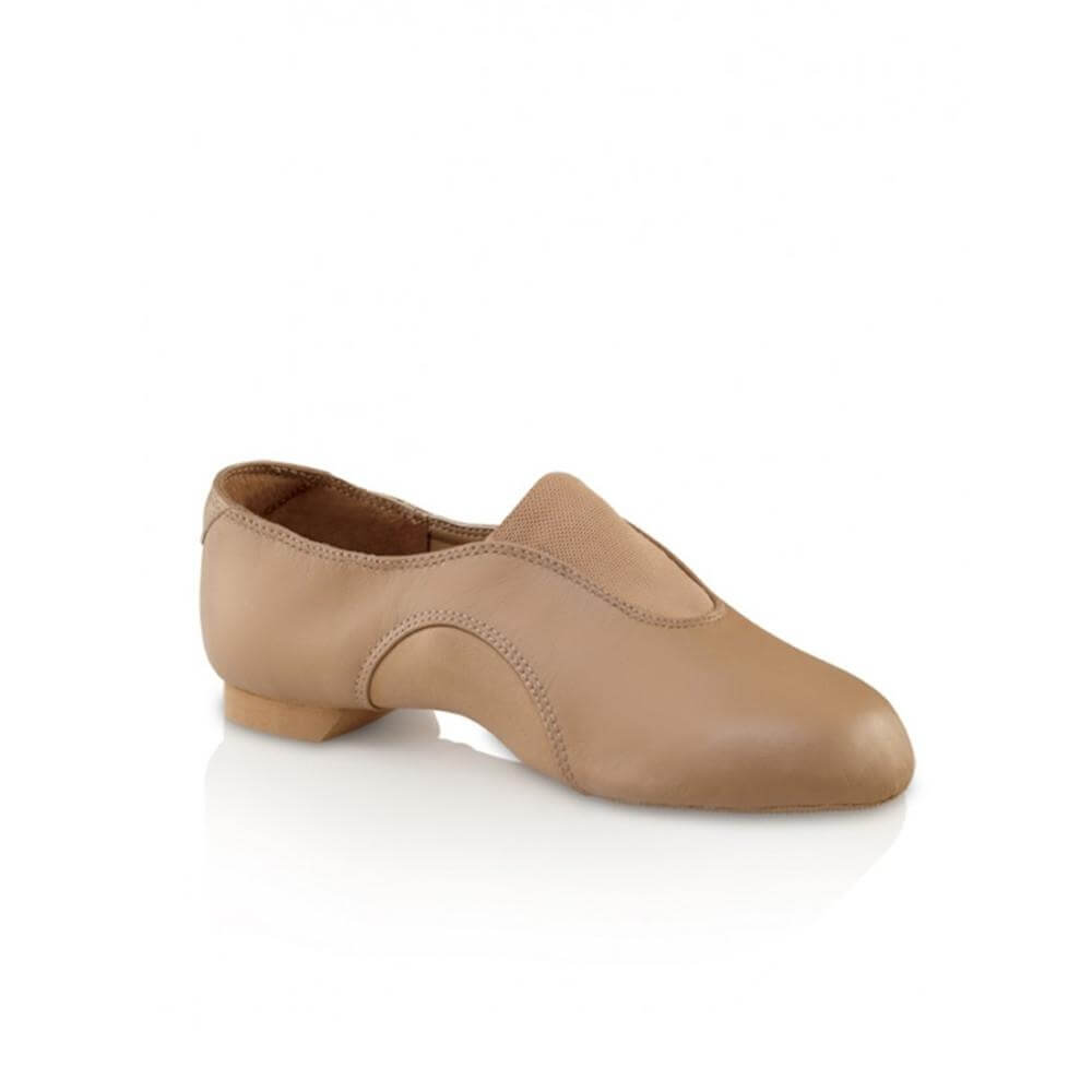 Capezio Child Slip-On V Jazz Low Jazz Shoe