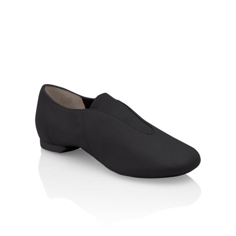 capezio slip on show stopper jazz shoe capcp05