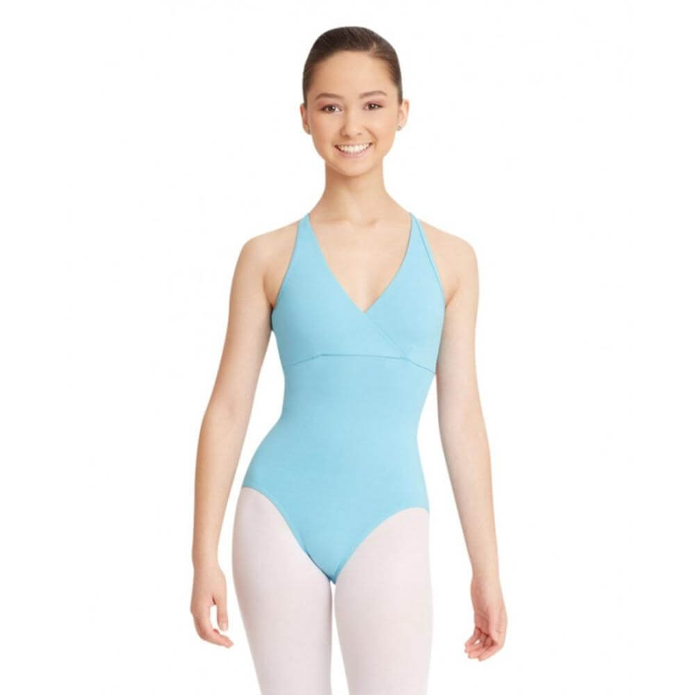 Capezio Adult Mock Halter Leotard