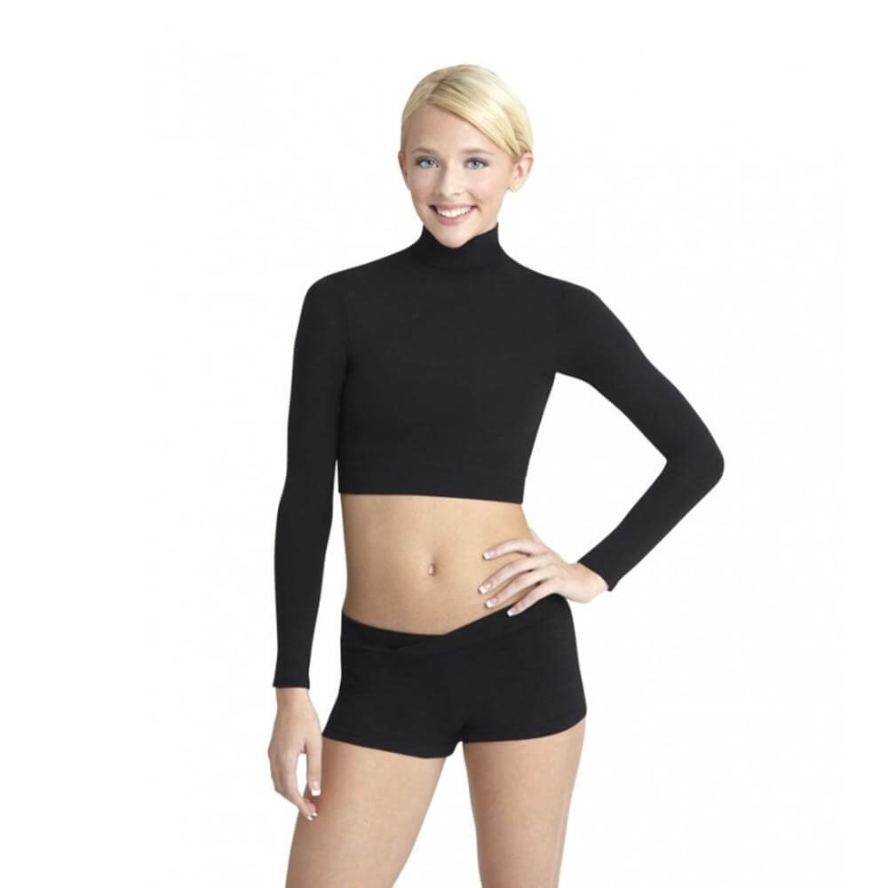 Capezio Adult Turtleneck Long Sleeve Top