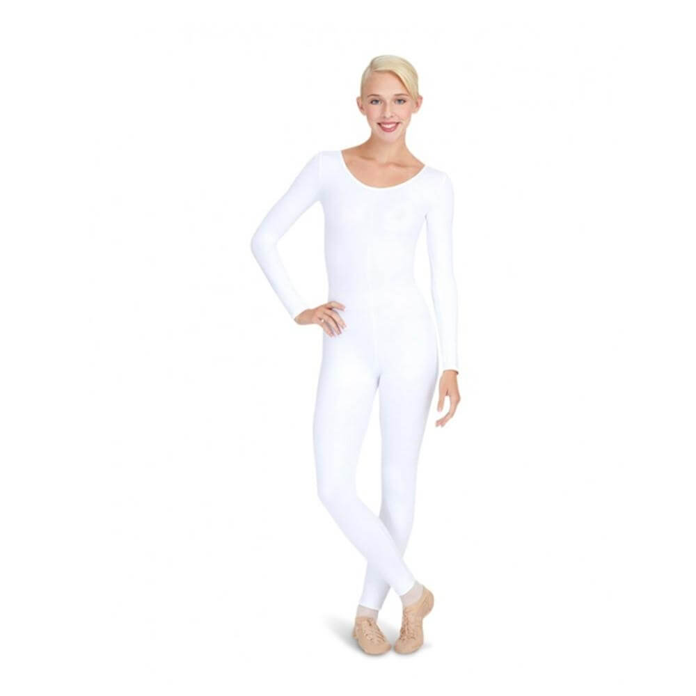 Capezio Adult Long Sleeve Unitard - Click Image to Close