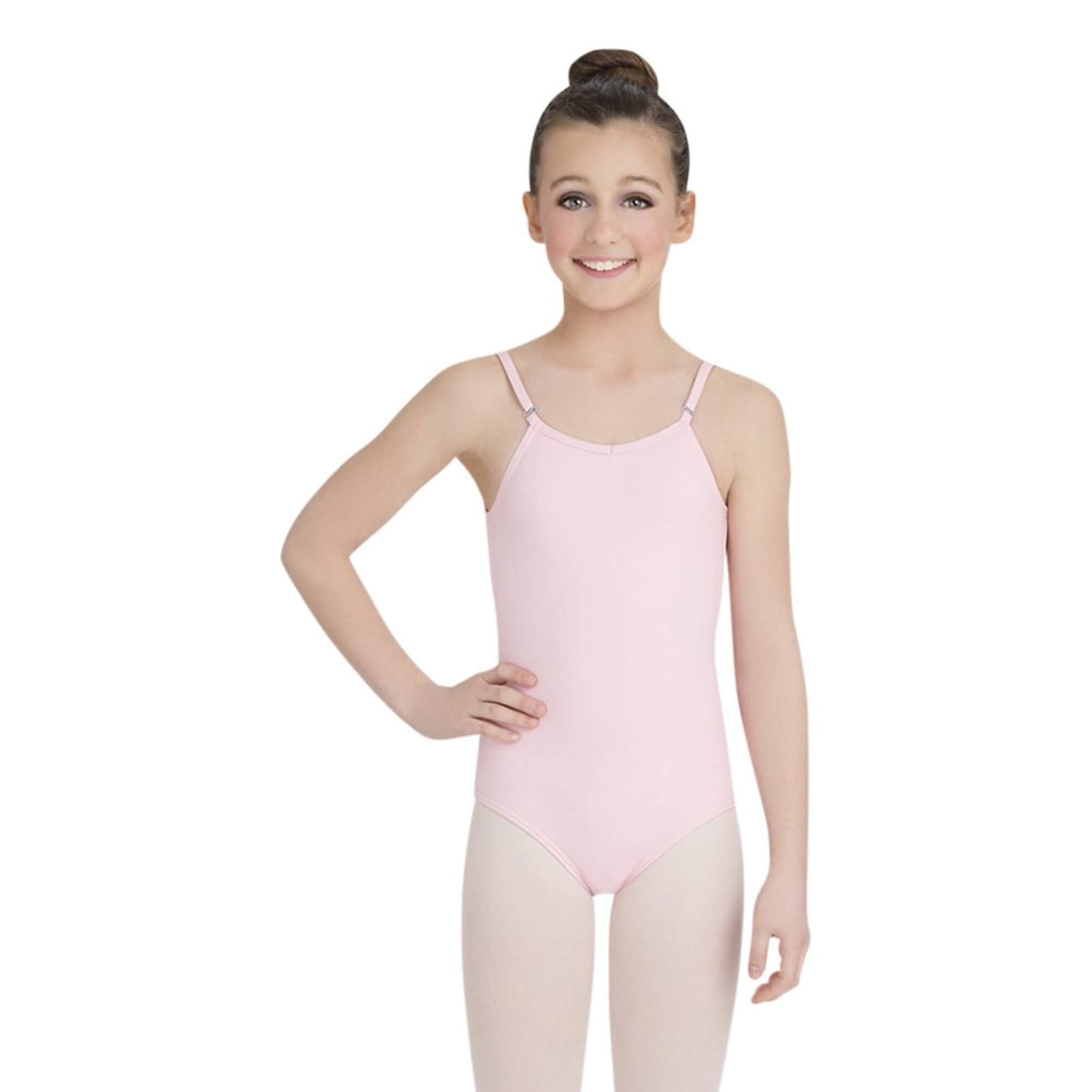 Capezio Girls' Camisole Leotard With Adjustable Straps