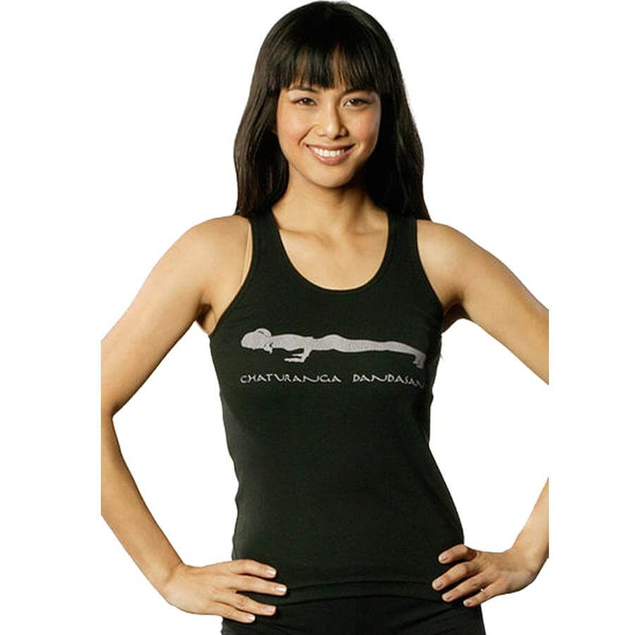 "Chakras by Didi Women's ""Four Limbed Staff Pose"" Classic Tank"