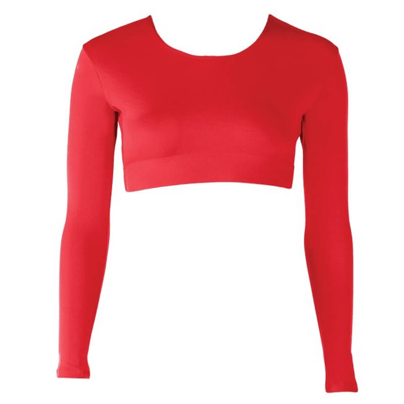Cheer Fantastic Scoop Neck Midriff