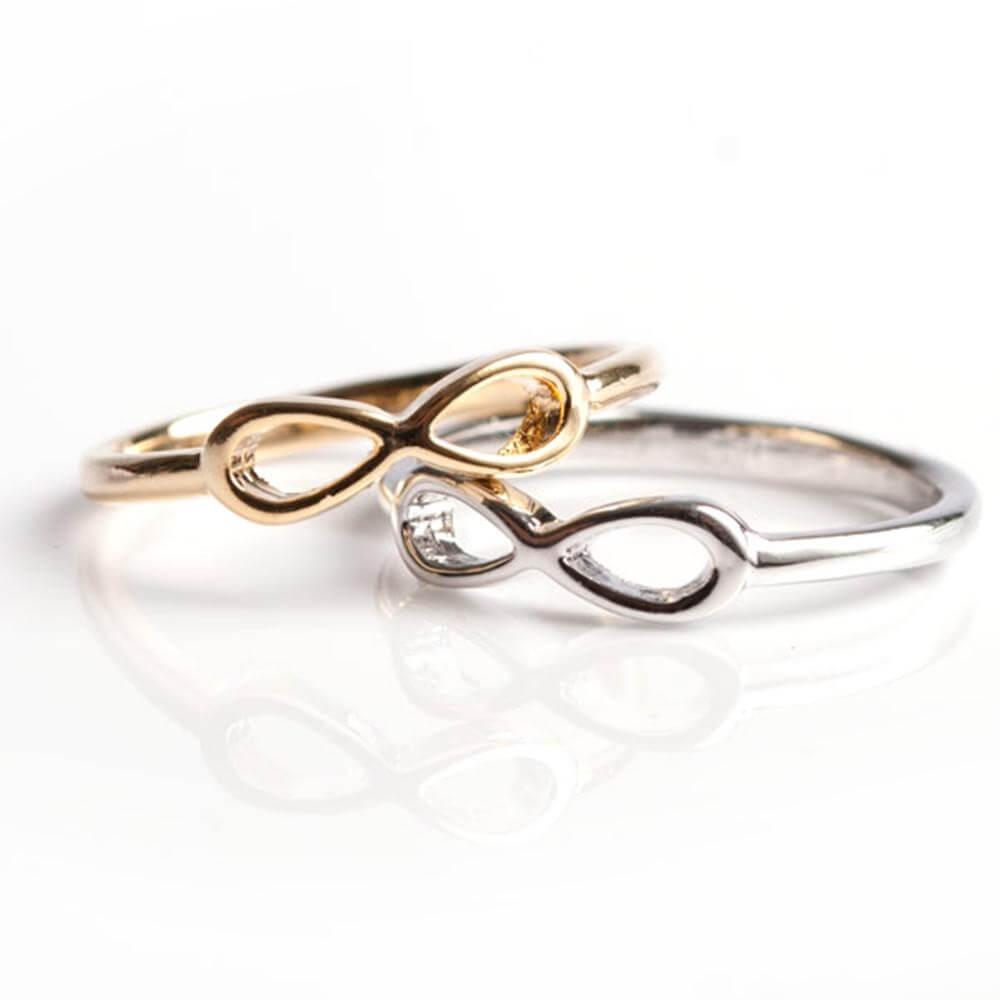 Covet Dainty Infinity Ring