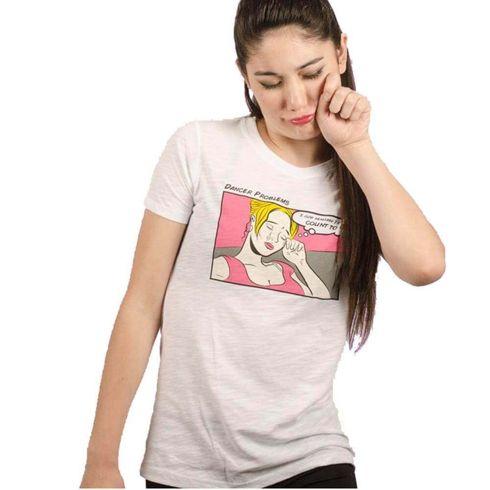 "Covet Adult ""Dancer Problems"" Tee"