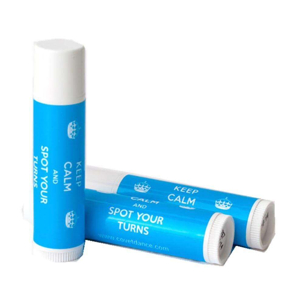 "Covet ""Keep Calm and Spot Your Turns\"" Iced Pear Lip Balm"