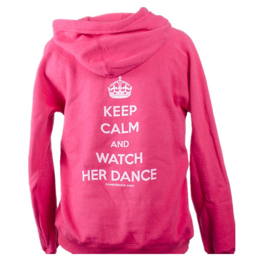 "Covet Adult ""Watch Her Dance\"" Dance Parent Hoodie"