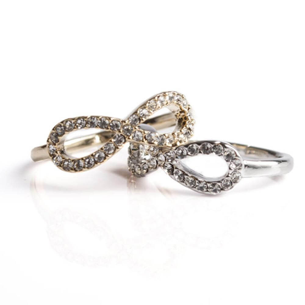 Covet Sparkly Infinity Ring