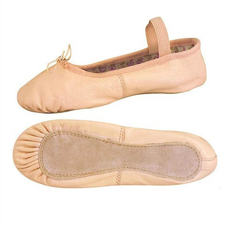 Danshuz Full Sole Leather Economy Student Ballet Slipper - Click Image to Close