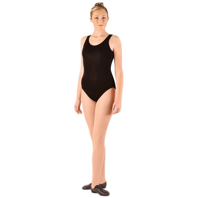 Danshuz Cotton Blend Tank Leotard