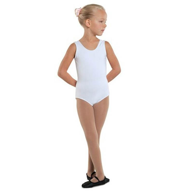 Danshuz Child Cotton Blend Tank Leotard