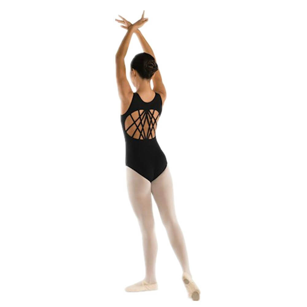 Danshuz Adult Multi-Strap Back Leotard