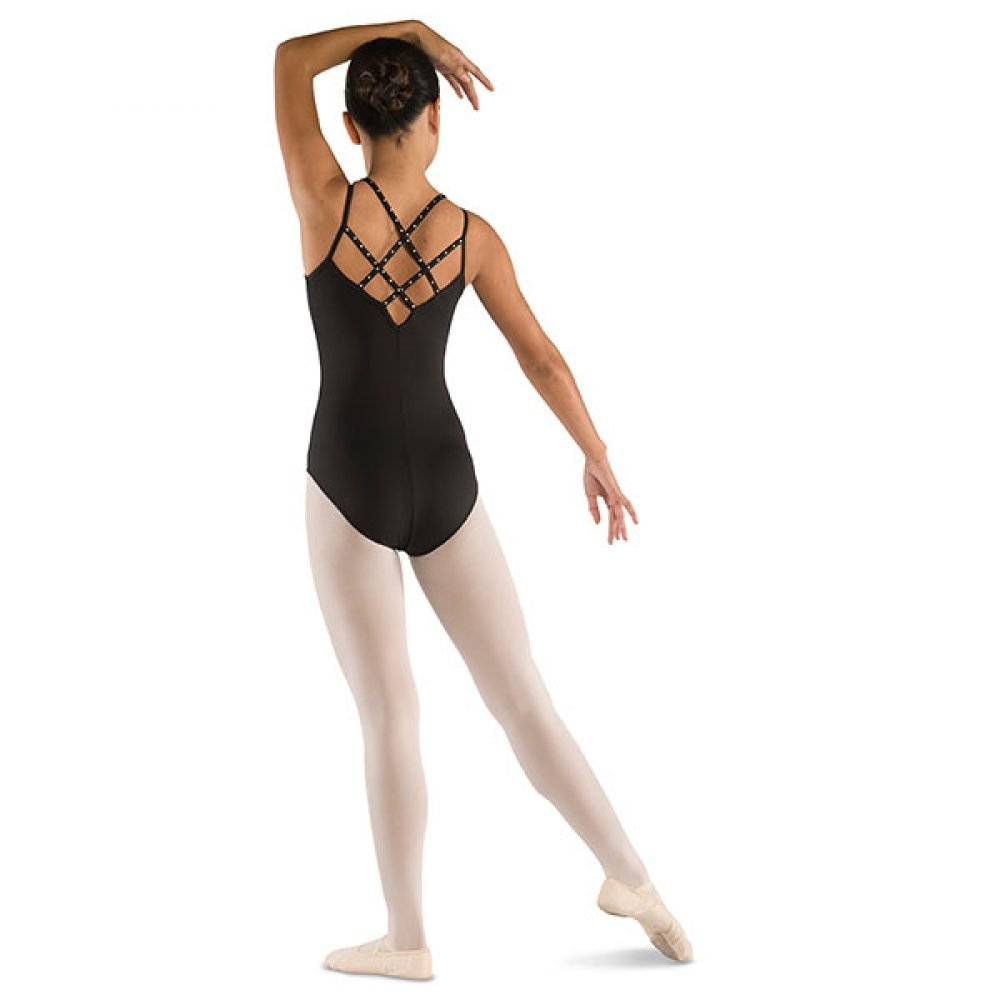 Danshuz Crisscross Back Leotard