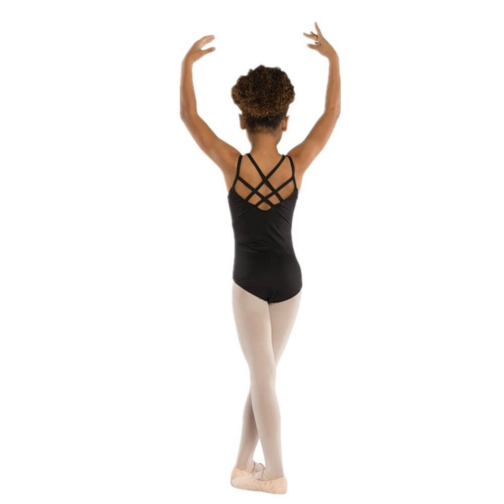Danshuz Child Pinch Front Crisscross Back Leotard
