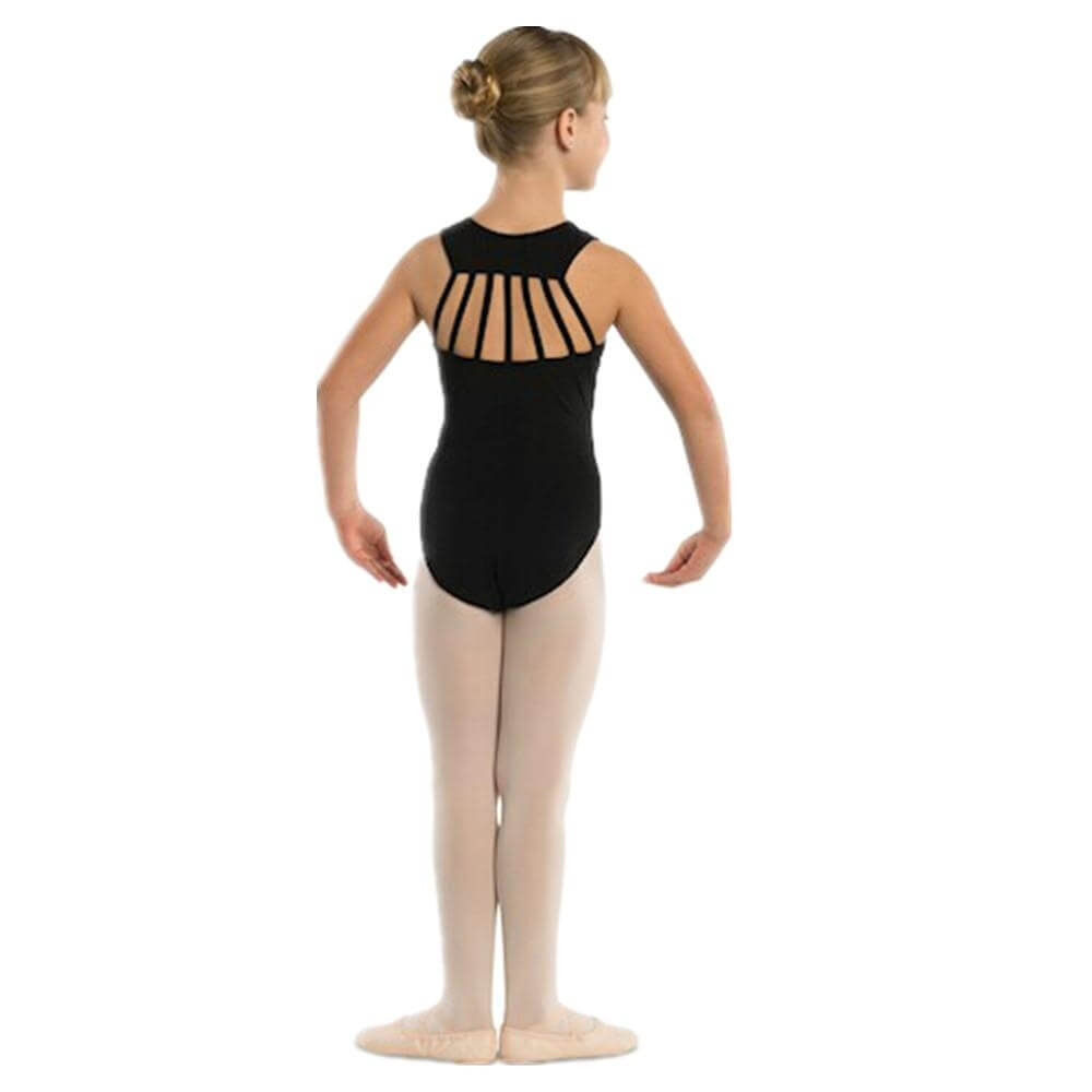 Danshuz Child Seven Straps Back Leotard