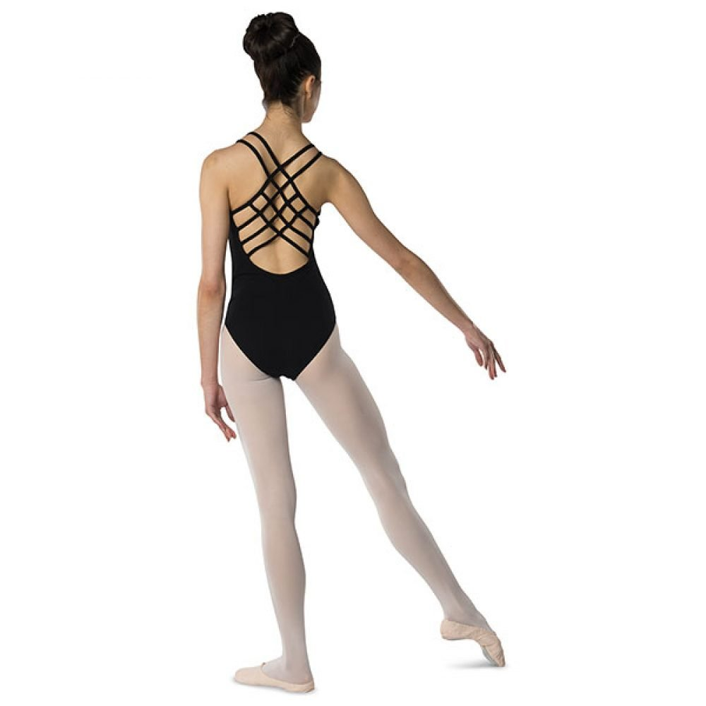 Danshuz Cross Strap Back Leotard