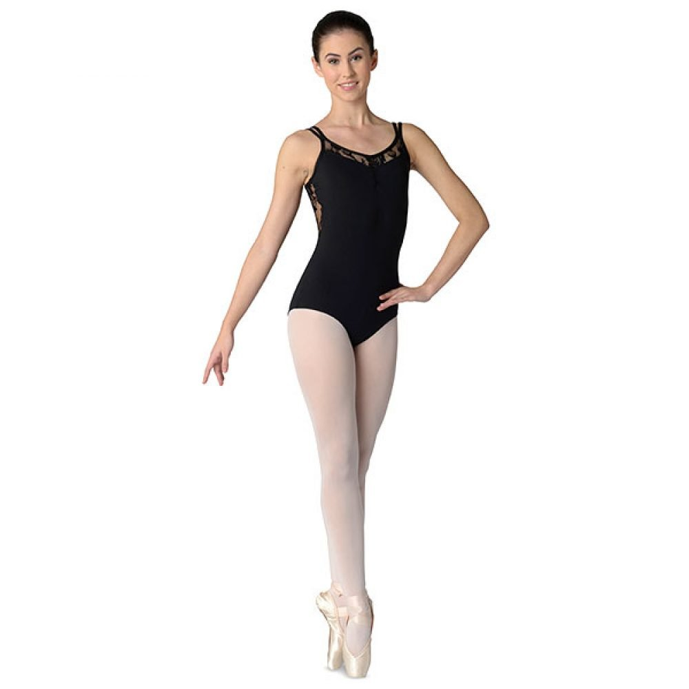 Danshuz Lace Inset Leotards