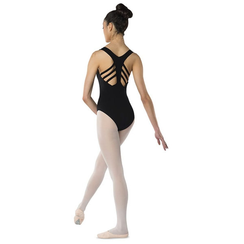 Danshuz Fishbone Back Strap Leotard