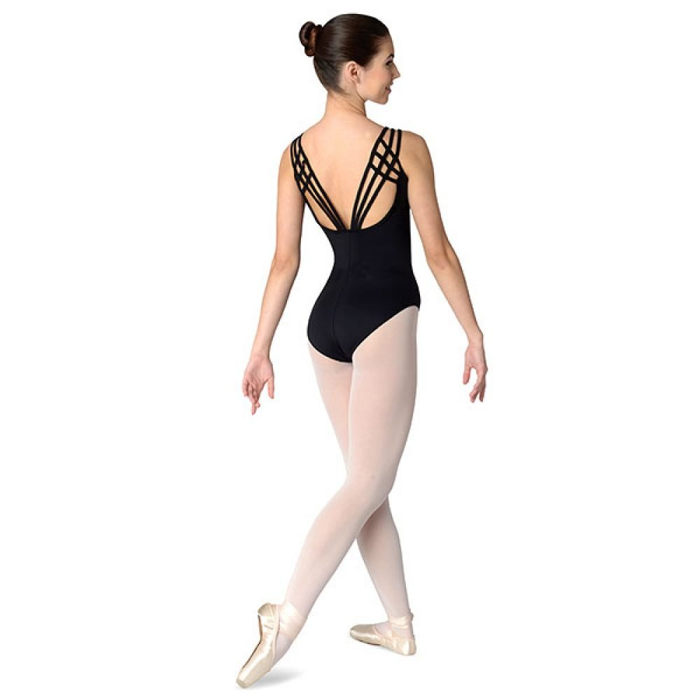 Danshuz Crisscross Triple Strap Leotard