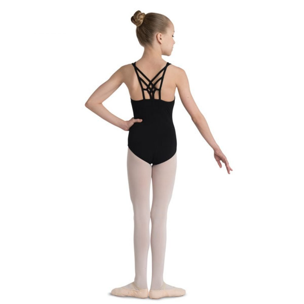 Danshuz Interlocking Strap Back Leotard