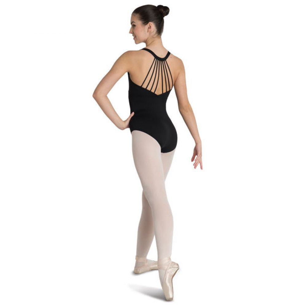 Danshuz V-Back Multi Strap Leotard