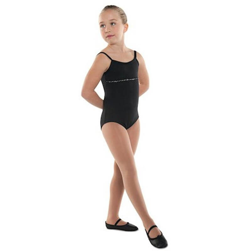 Danshuz Child Rhinestone Adorned Leotard
