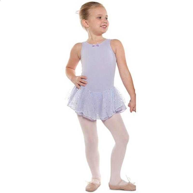 Danshuz Child Tank Dress w/ Hologram Skirt