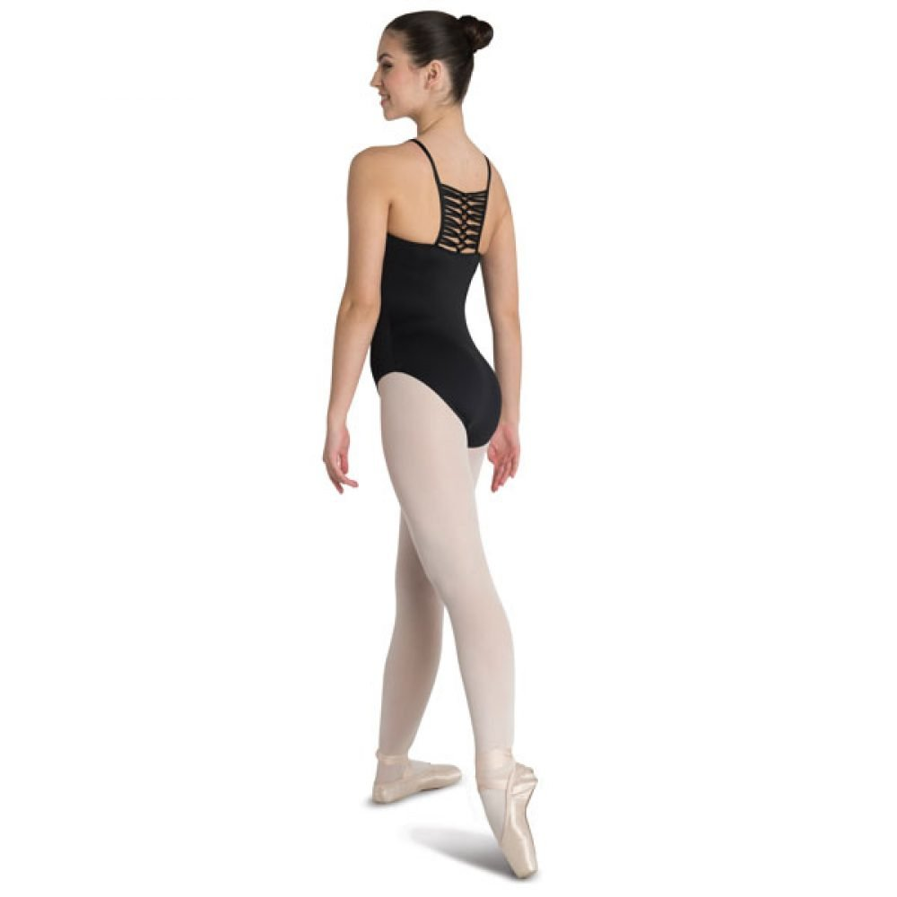 Danshuz Macrame Center Back Leotard