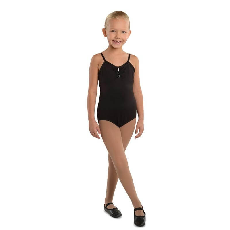 Danshuz Child Camisole Leotard with Rhinestone