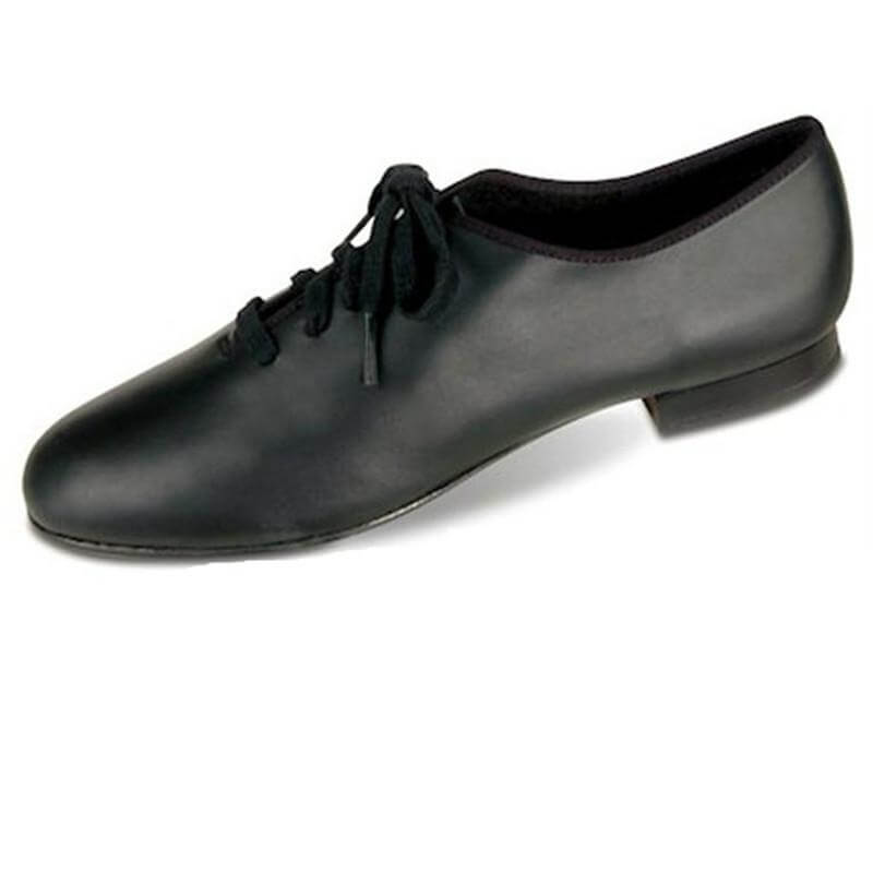 Danshuz Child Leather Classic Jazz Lace Up Tap Shoe
