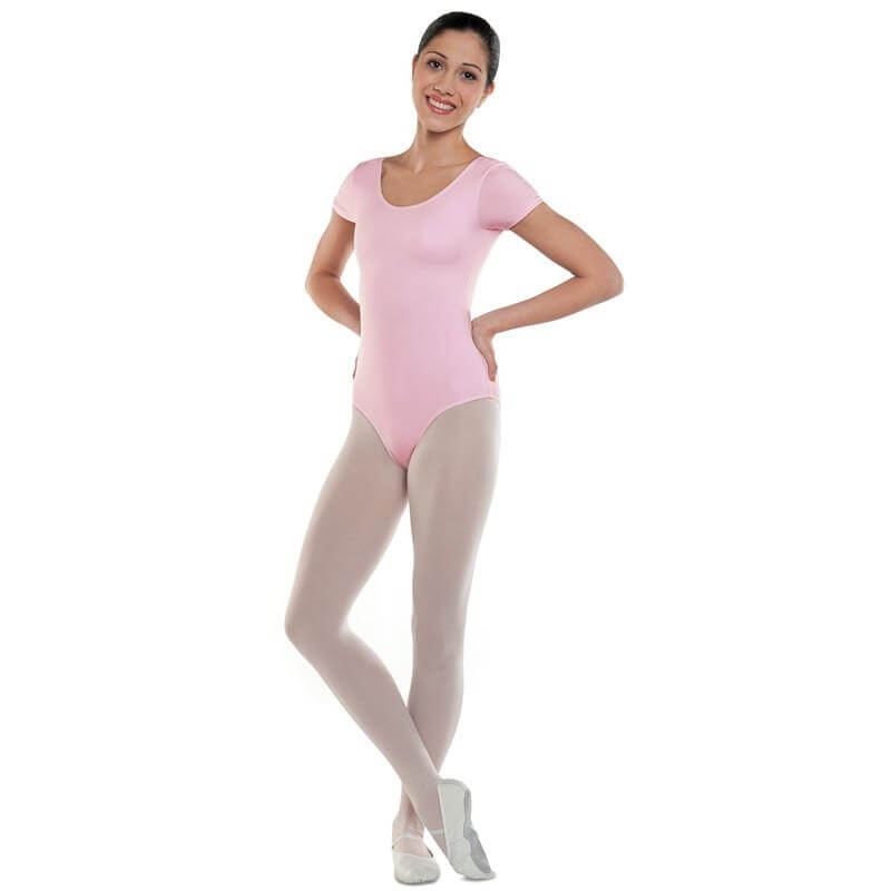 Danshuz Cotton Cap Sleeve Leotard