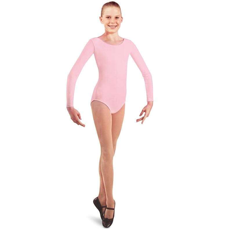 Danshuz Child Cotton Long Sleeve Leotard