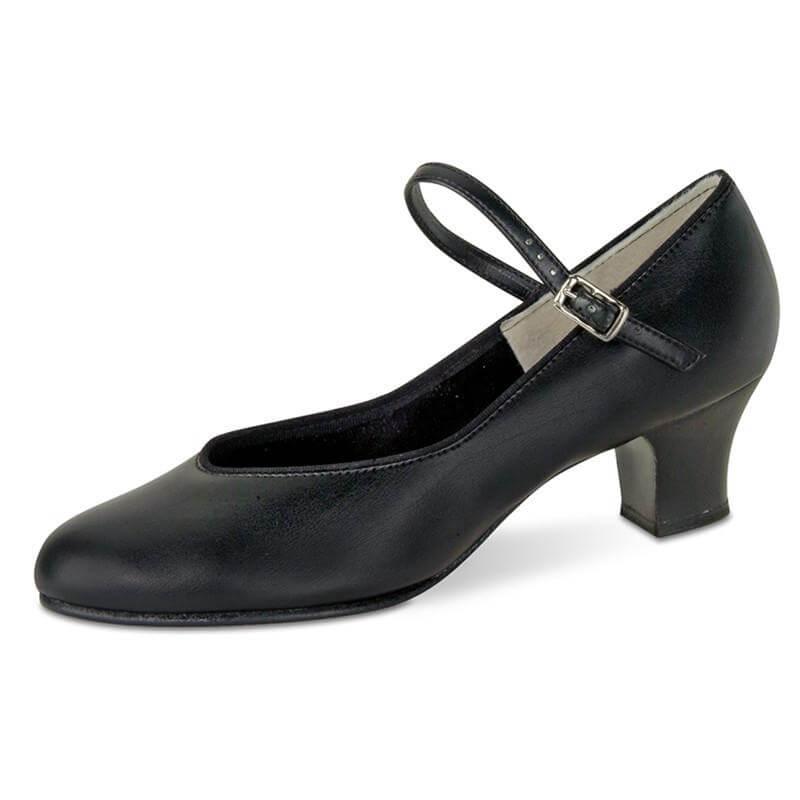 """Danshuz 1 1/2\"""" Heel Tap Queen Character Shoe"""