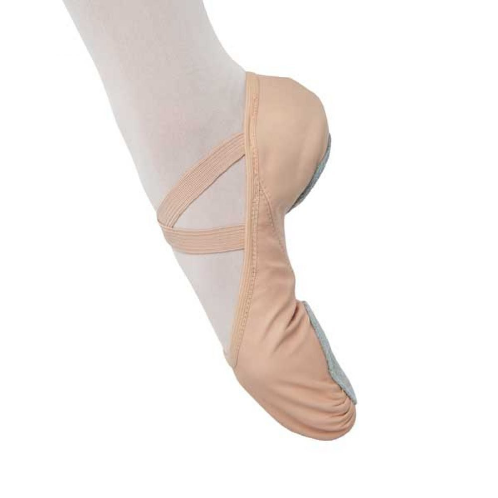 Danshuz Stretch Split Sole Child Ballet Slippers