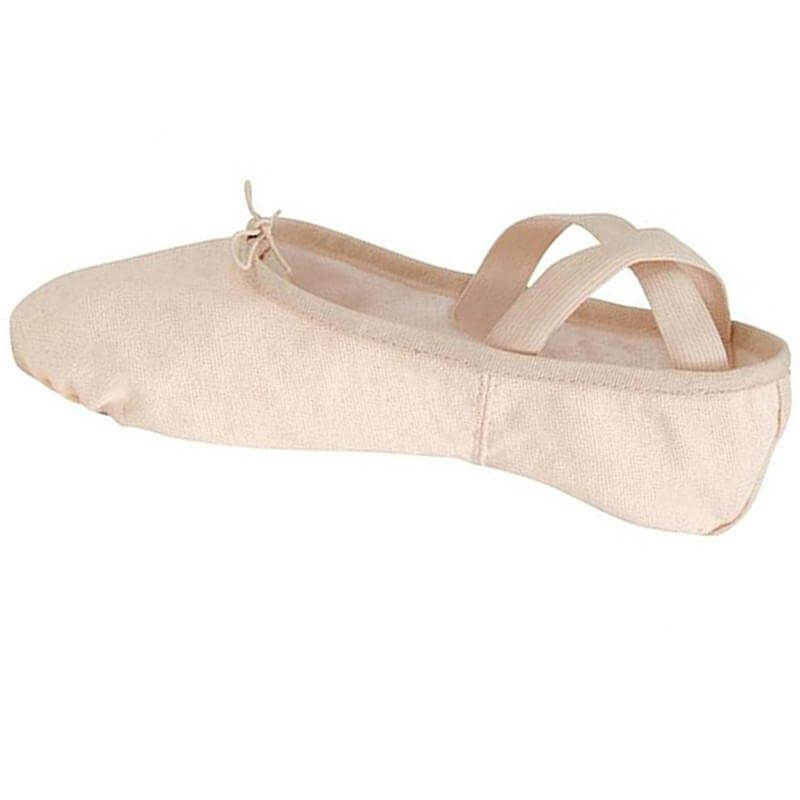 Danshuz Child Split Sole Canvas Ballet Slipper
