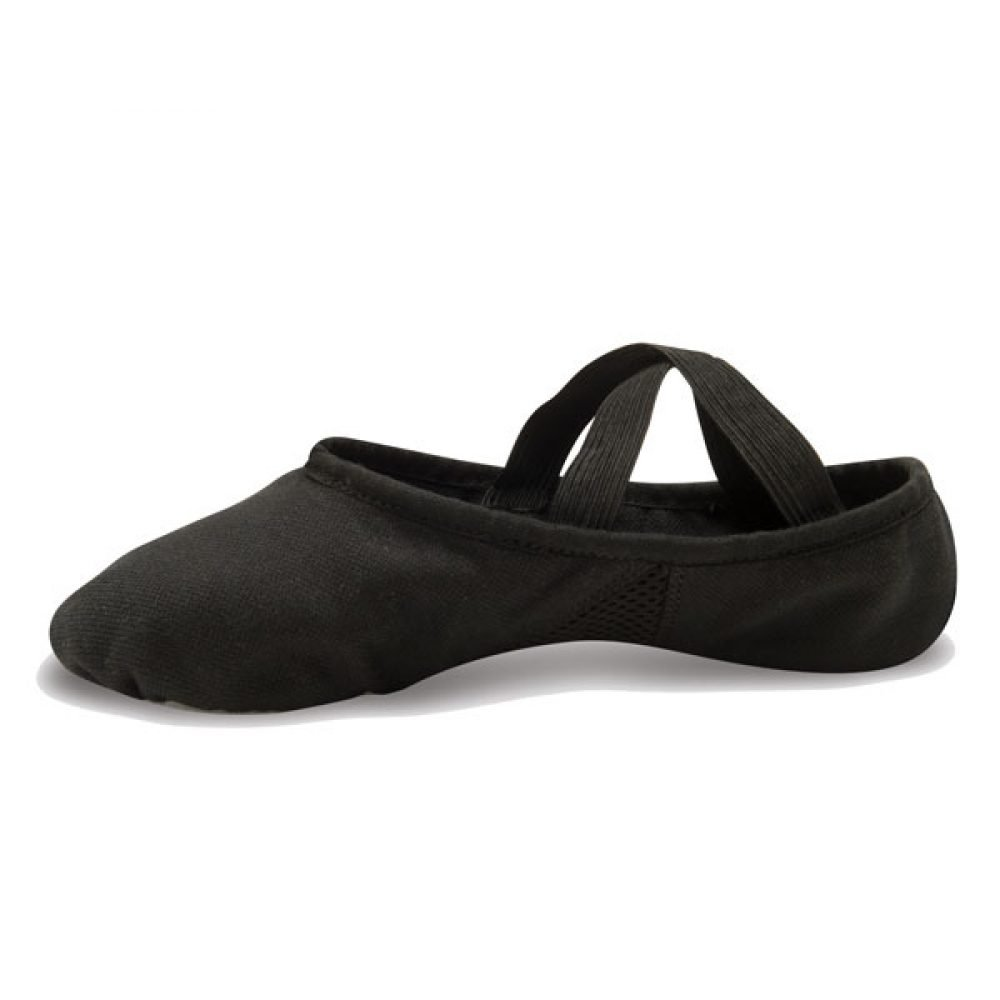 Danshuz Canvas Stretch Child Ballet Slippers