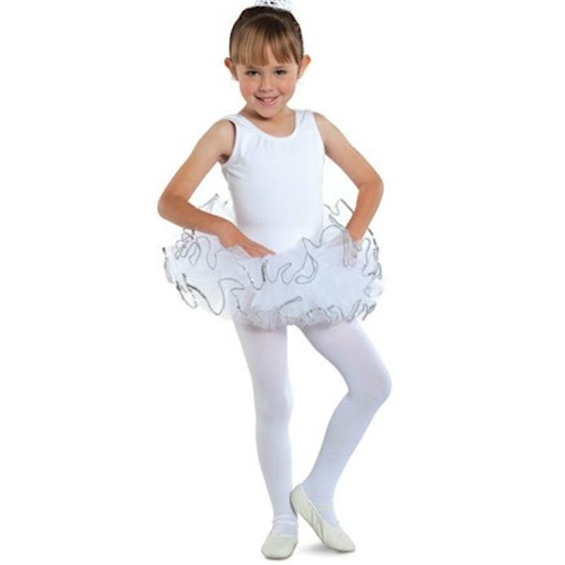 Danshuz Child 4 Layers Elastic Waistband Sequin Tutu