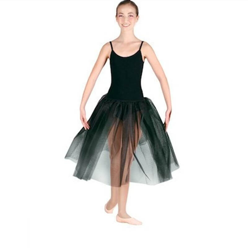 Danshuz Long Two Layers Elastic Waistband Romantic Tutu