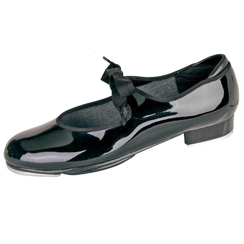 Danshuz Adult Tap Shoes with Ribbon Tie