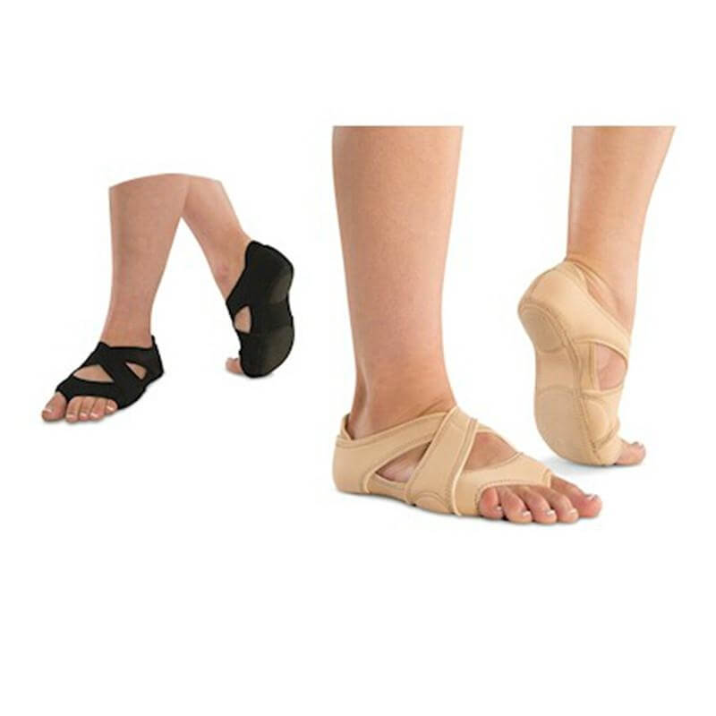 Danshuz Neoprene Cross Wrap Half Sole