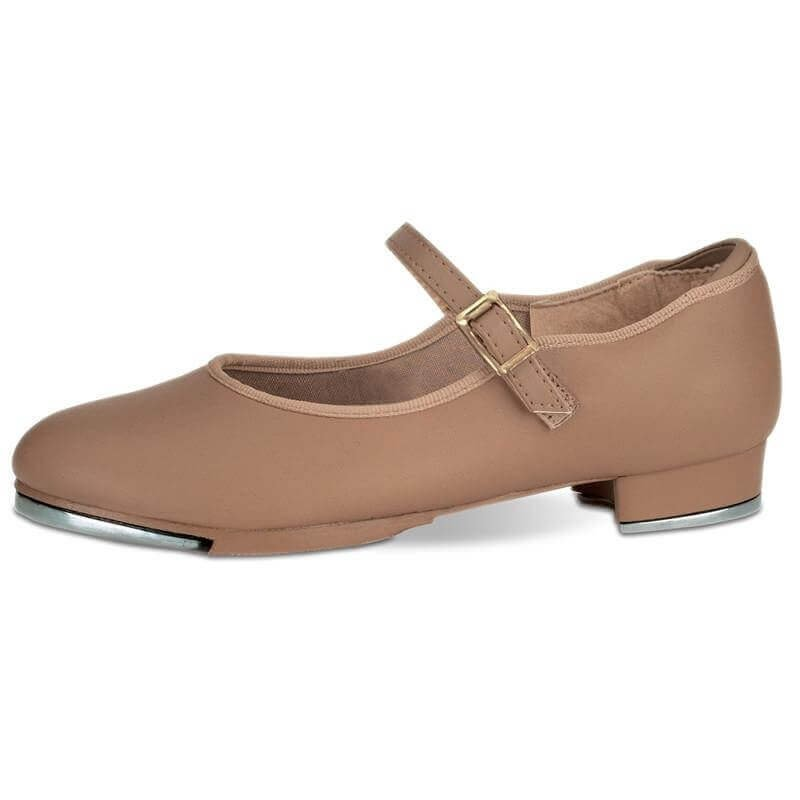 Danshuz Value Strap Tap Shoe-Bella Tan