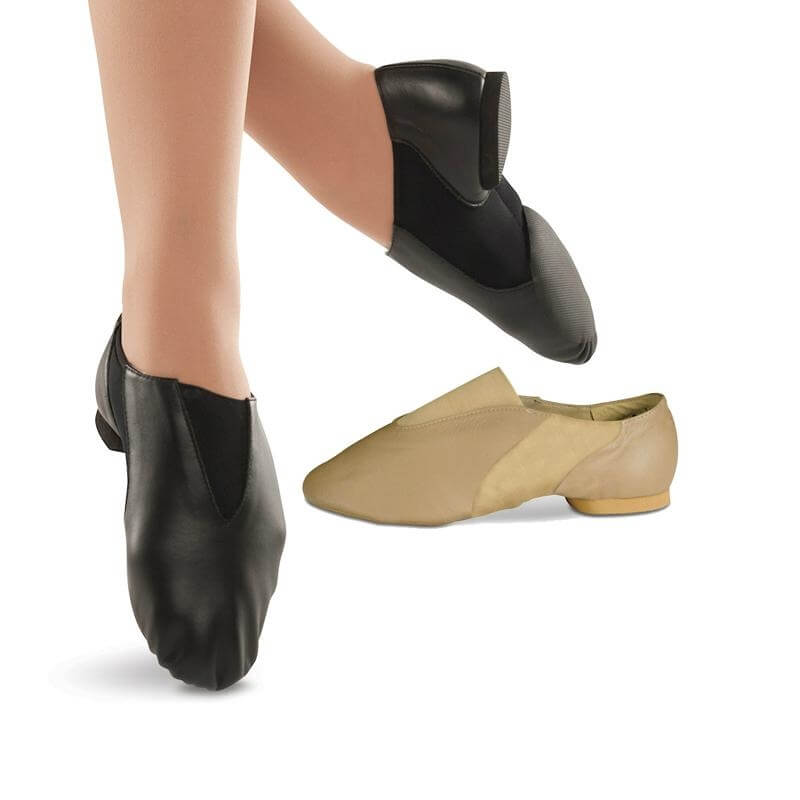 Danshuz Adult Leather Contour Jazz Shoe