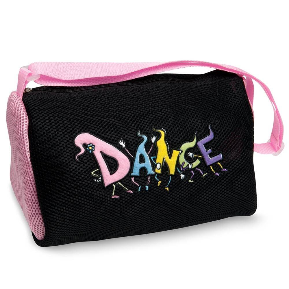 Danshuz Dancing Feet - Pink Bag