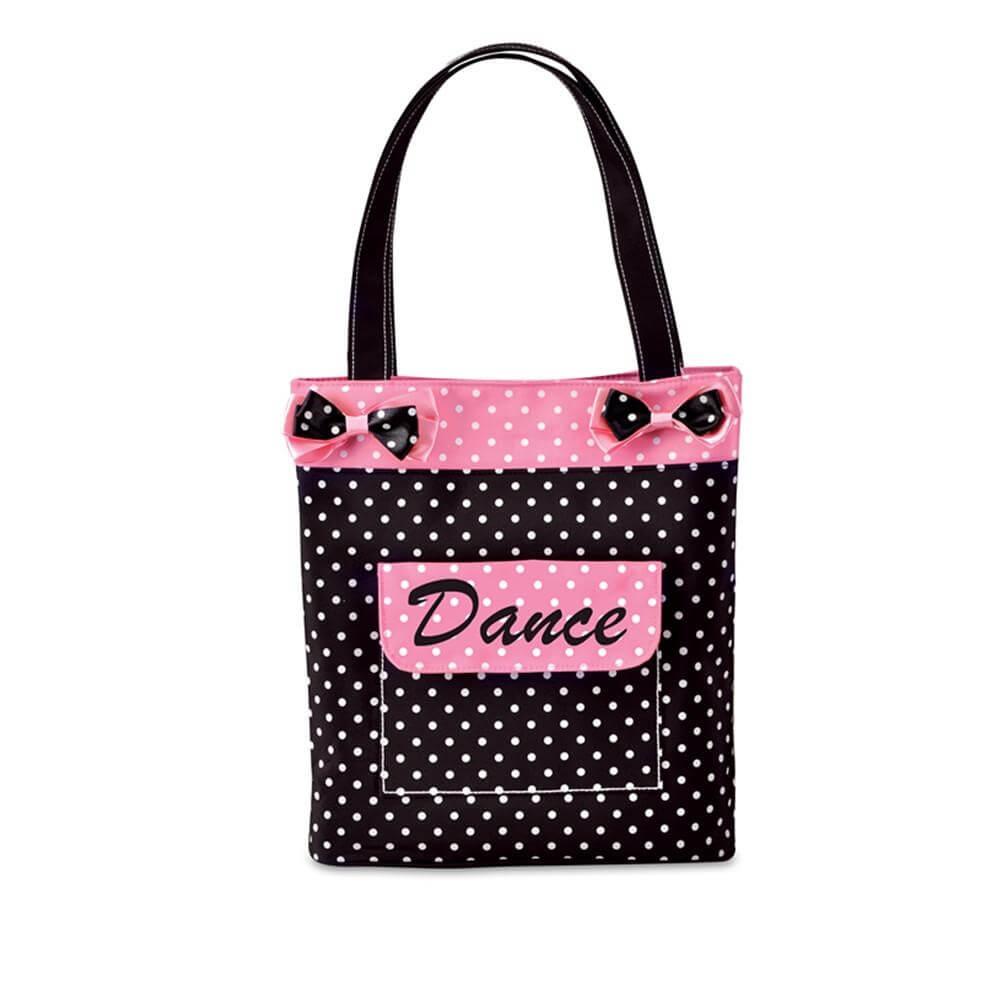 Danshuz Dancin' Dots Dance Tote Bag