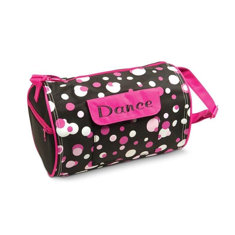 Danshuz Dots Print Dance Duffle Bag