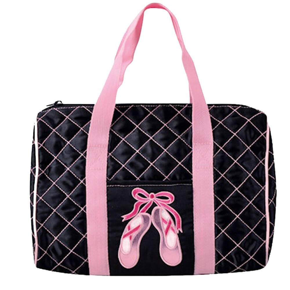 Danshuz Quilted on Pointe Black Bag