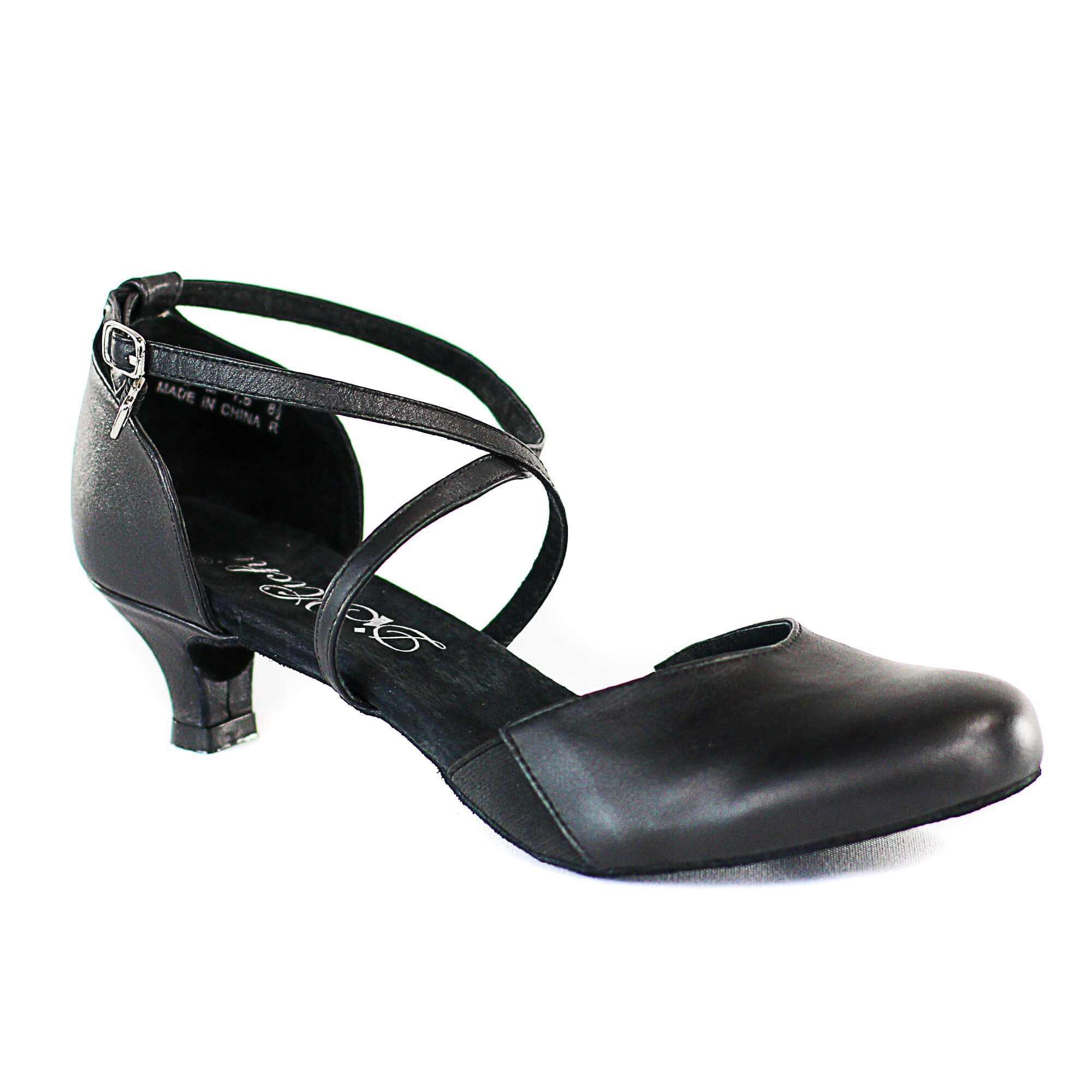 "Dimichi Adult ""SASHA"" Close-Toe 1.5"" Heel Ballroom Shoe"