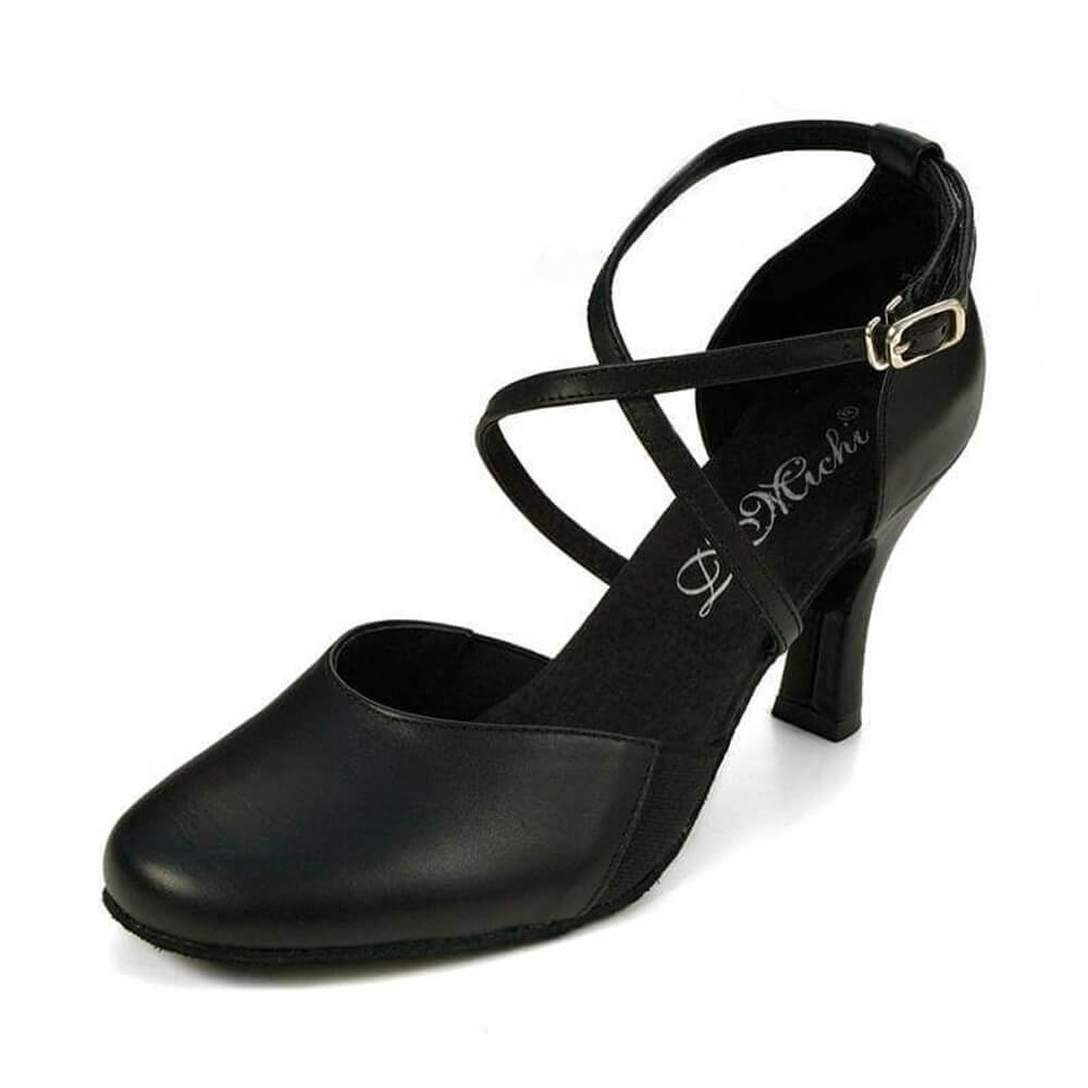 "Dimichi Adult ""SASHA"" Close-Toe 2.0"" Heel Ballroom Shoe"